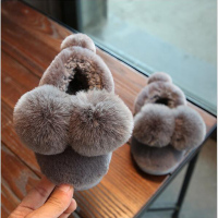 BABY GIRLS Winter SHOES Children Casual Fur Home Shoes Kids Fashion Cute Boots For Girls Baby