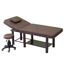Folding beauty bed tattoo embroidery hospital special body massage bed sauna massage bed moxibustion fire therapy physio bed(China)