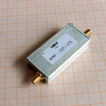 Free shipping KFBP-137/175 137~175MHz VHF band pass filter, SMA interface sensor