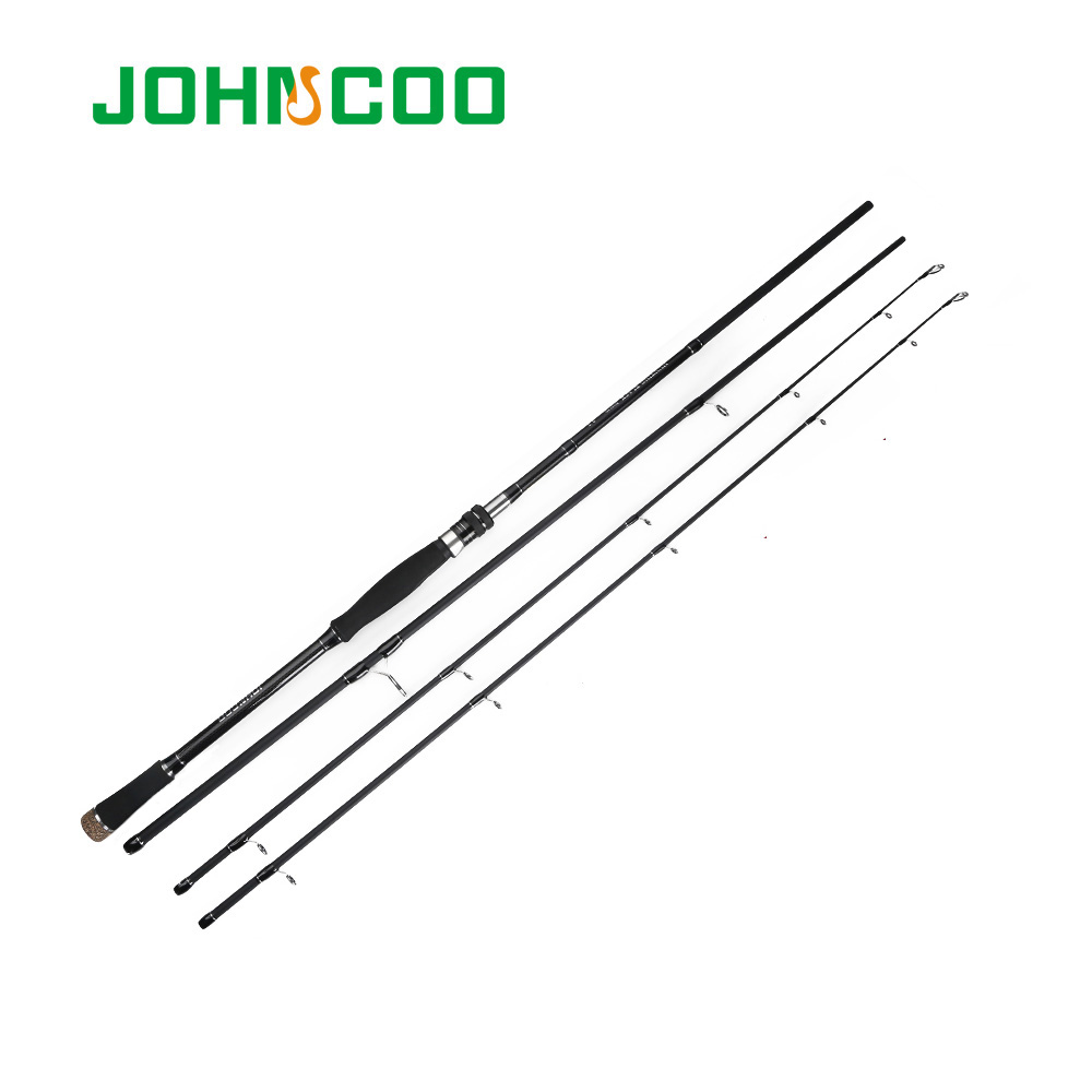JOHNCOO High Carbon Rod 2.7m 3.0m Spinning Fishing Rod High Quality Sea Bass Rod Casting Rod M, MH Power Portable RodJOHNCOO High Carbon Rod 2.7m 3.0m Spinning Fishing Rod High Quality Sea Bass Rod Casting Rod M, MH Power Portable Rod