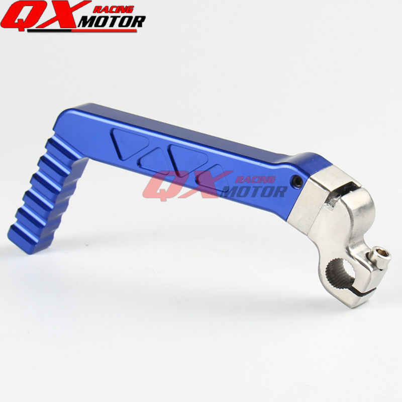 13mm CNC Forged Kick Start Starter Lever Pedal Blue For