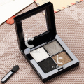 4 Colors Lady Eye Shadow Makeup Cosmetic Shimmer Eyeshadow Palette Natural Nude