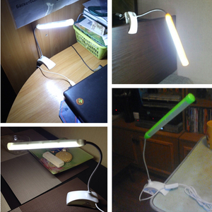 Image 5 - AIFENG 5V USB Led Lampe De Bureau À Pince Lampe De Table Flexible 13Leds Pour Livre De Chevet Lecture Étude Bureau Enfants Veilleuse