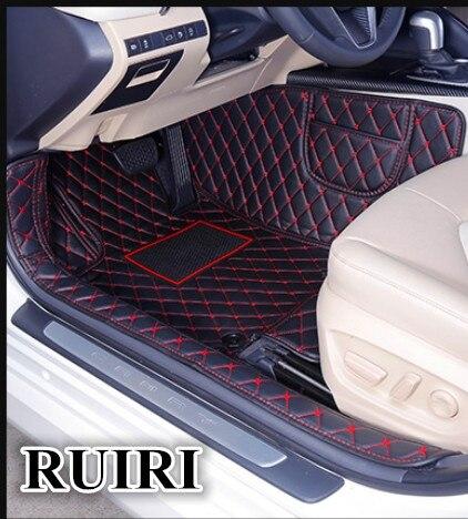 Boa qualidade! Tapetes do carro especial para Toyota Camry Novo 2018 desgaste-oposição à prova d' água tapetes para Camry 2018, Frete grátis
