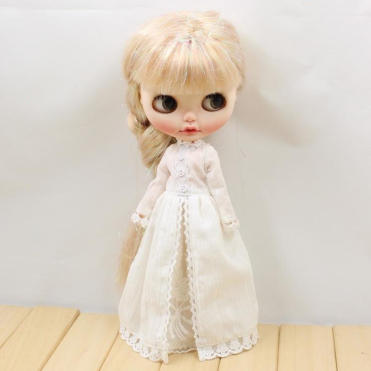 Neo Blythe Doll Vintage Long Dress 2