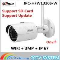 Original Dahua Original Dahua IPC HFW1320S W CCTV IP Bullet Camera 3MP HD 1080P With Wifi