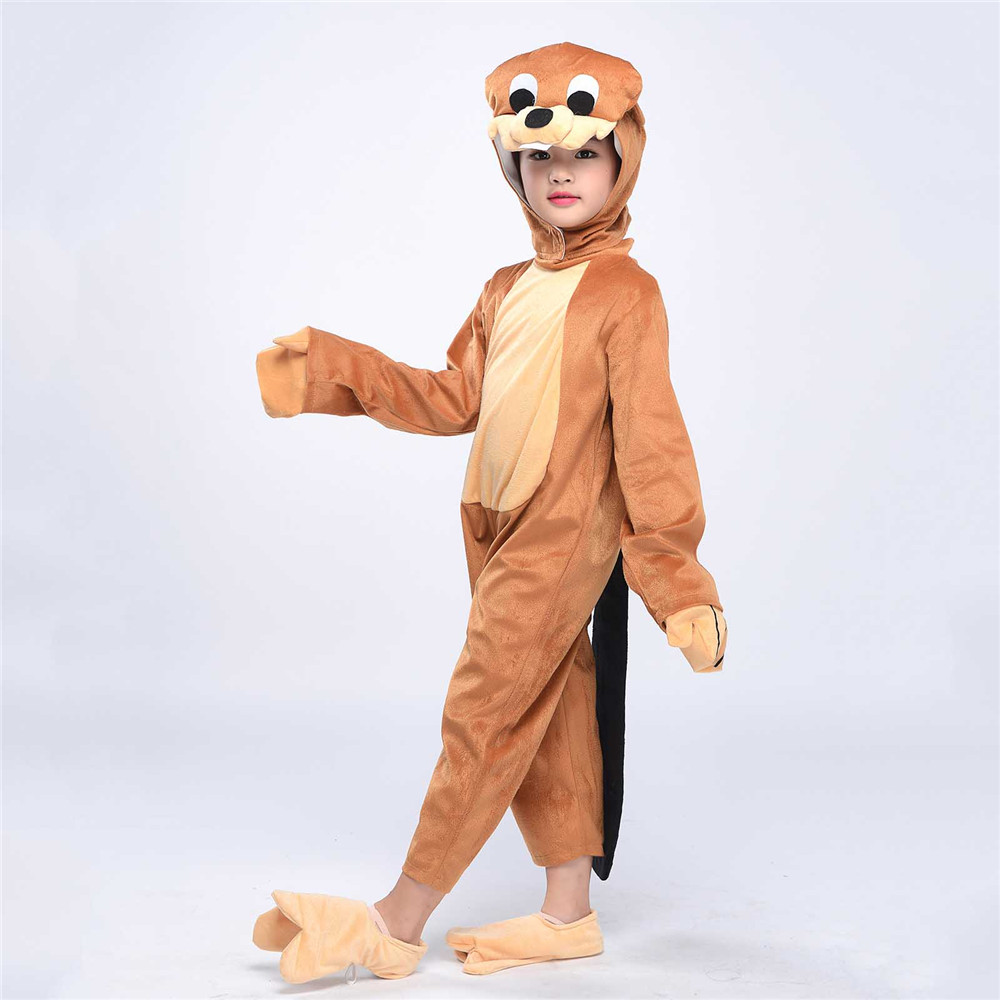 beaver costume beaver costume child beaver costumes for adults beaver baby outfit female beaver costume  sc 1 st  AliExpress.com & Child Beaver Cosplay Costume Kids Animal Costumes Fancy Dress Anime ...
