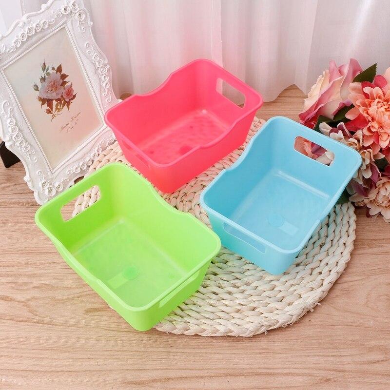 Home Office Desktop Storage Organizer For Cosmetics Sundries Storage Box Cabinet Underwear Storage Basket Makeup Container