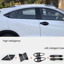 Автомобильный Стайлинг для Honda HR-V HRV Vezel ABS дверная ручка Крышка Чаша полость отделка Catch cap молдинг Гарнир