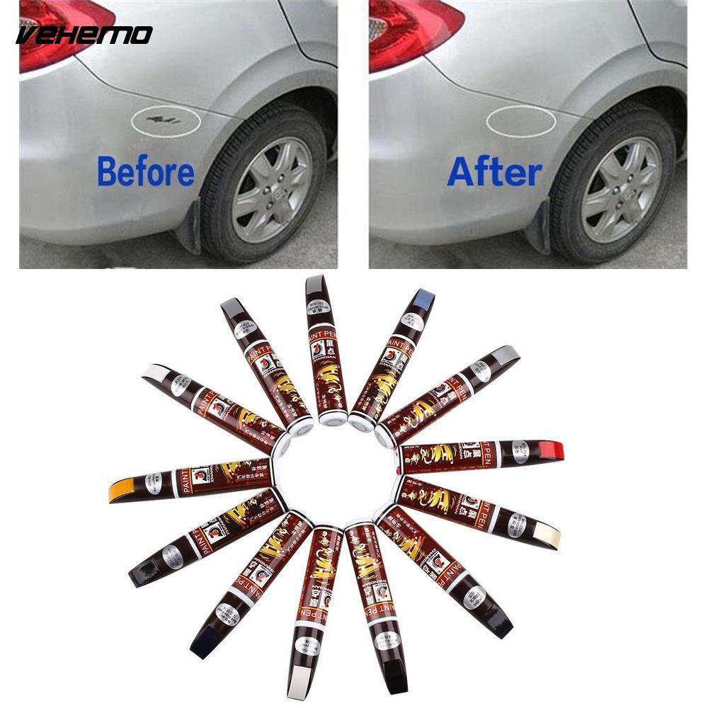 Car colour match pen - Vehemo 1pc Universal Car Paint Care Repair Pen Pro Pen Mending Painting Car Remover Scratch Repair