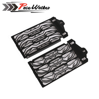 FREE SHIPPING Motorcycle Radiator Grille Guard Cover Protector For BMW R1200GS ADV Waterbirds Adventure Water Cooled