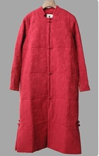 Зимой 2015 года новый продукт, Оригинальной конструкцией женская рука швейная хлопок лен зимние-мягкие одежды