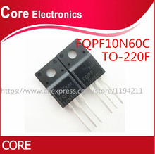 100 개/몫 FQPF10N60C 10N60C 10N60 TO 220F 새로운