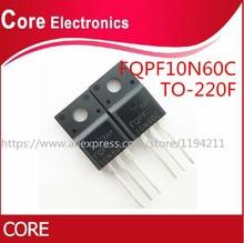 100 adet/grup FQPF10N60C 10N60C 10N60 TO 220F yeni