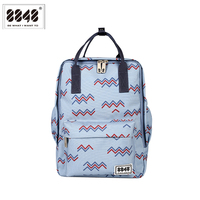 8848 Brand Backpacks Small Women's Backpack Unique Pattern Soft Back Resistant Waterproof Oxford Material Hot Sale 003 008 013