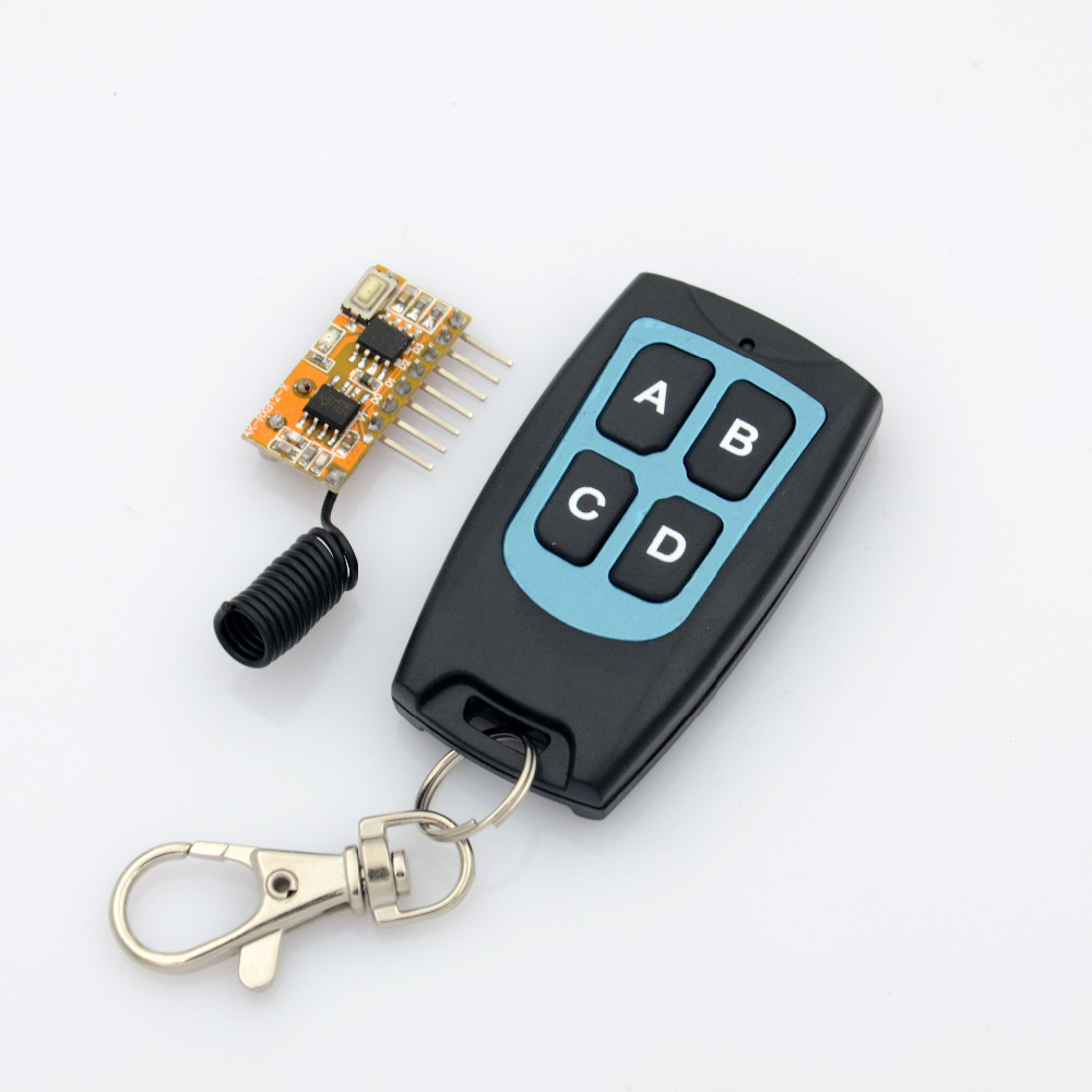 ASK Super heterodyne RF Transmitter and Receiver Module 315mhz 433 92mhz Smartphone Android Receiver Board