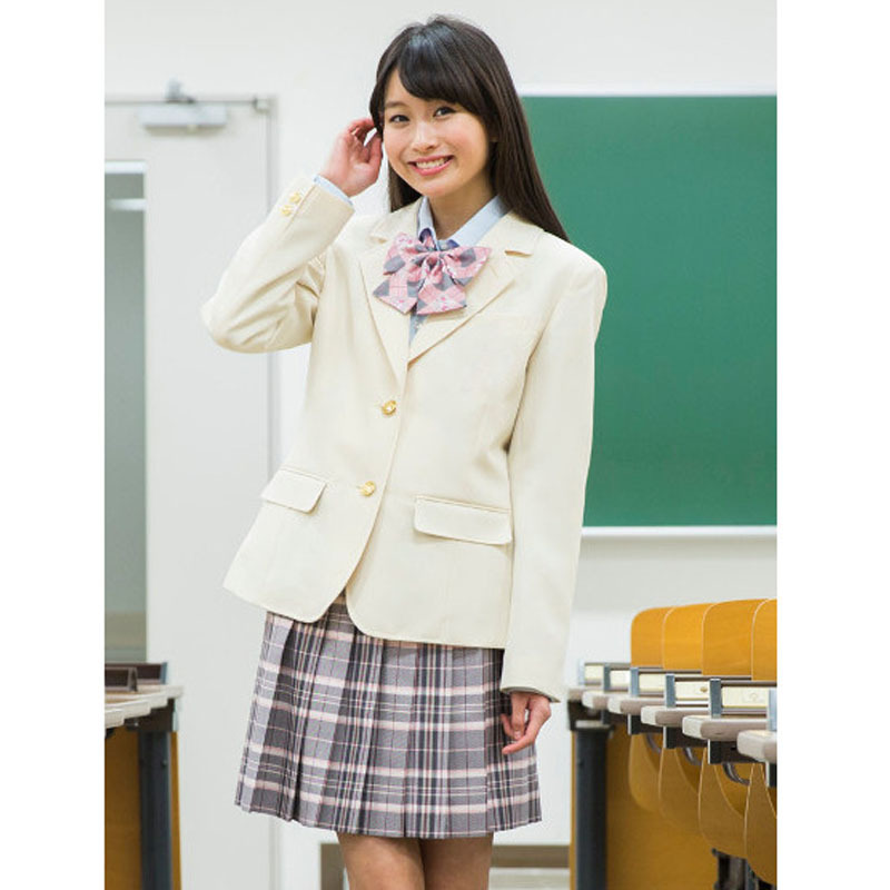 Small suit female jacket 2017 spring and autumn fashion new fashion British campus wind ladies small suit jacket JK uniforms