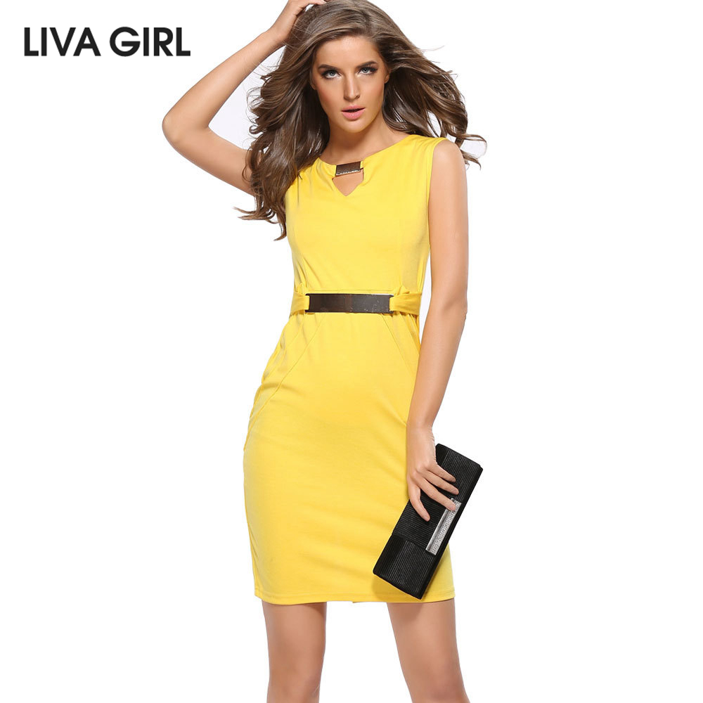 Online Get Cheap Womens Dresses Office Wear -Aliexpress.com ...