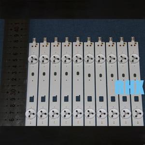 Image 4 - 10 قطعة/الوحدة ل قطاع إلى التلفزيون سوني kdl 40w605b سام سونغ 2013 سوني 40a 3228 05 rev1.0 130927 ref287 5 قطعة A + 5 قطعة B الألومنيوم