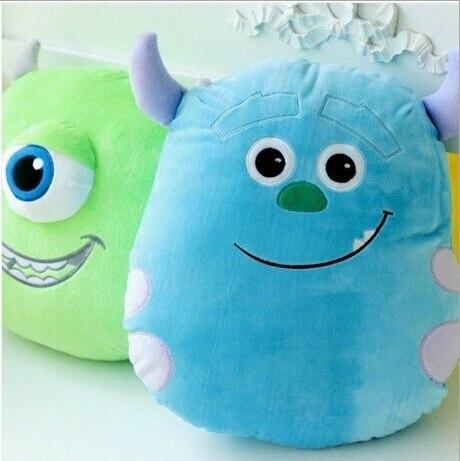 Monster monster University Power Company anime Sullivan Mikes Super Soft Plush Doll cushion pillow free shipping