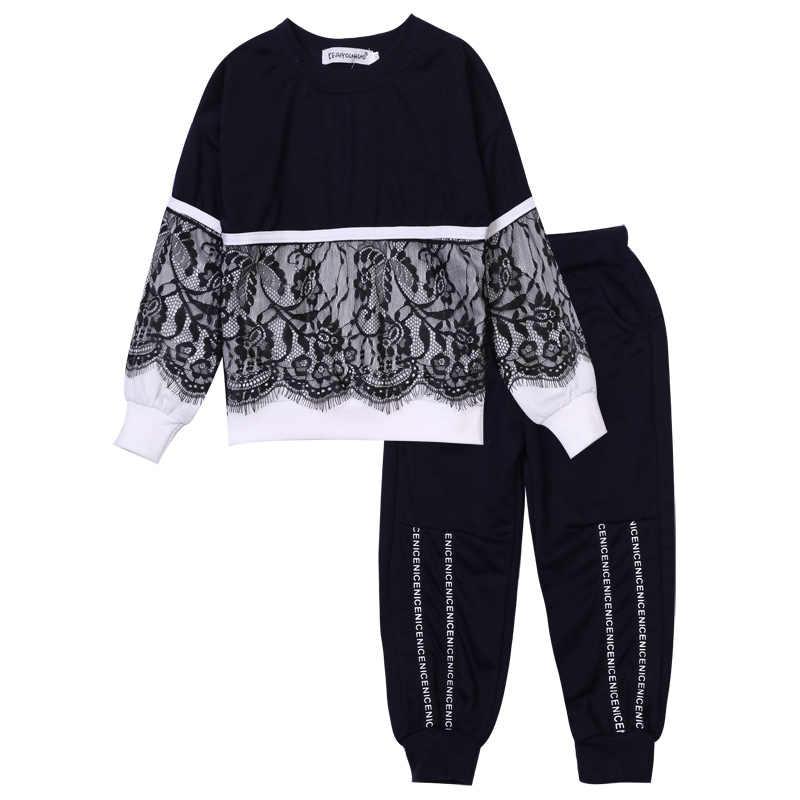 b1c8a3f29 ... Nuevo bebé niña conjuntos de ropa chándal para niñas deporte trajes niños  ropa conjuntos trajes de ...