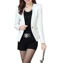 TFGS New Spring Autum Women Slim Blazer feminino Coat Casual Jacket Long Sleeve One Button Suit Ladies Blazers Work Wear Blazer