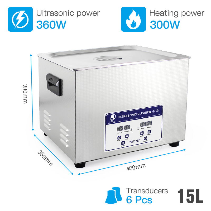 SKYMEN Ultrasonic Cleaner Heated Timer Stainless Basket Industrial Metal Parts Medical Lab Instruments Ultrasound Cleaning Bath