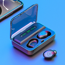 Buy F9-5 TWS Wireless Bluetooth 5.0 Earphones Mini Invisible Earbuds 8D Stereo Noise Cancelling Headset LED Display directly from merchant!