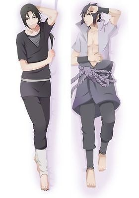 Japan Anime    Hugging Body Pillow Case qf 150*50  Naruto Uchiha Sasuke