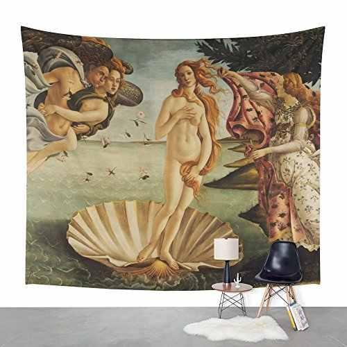 La Nascita Di Venere Da Sandro Botticelli Arazzo Da Parete Piccolo