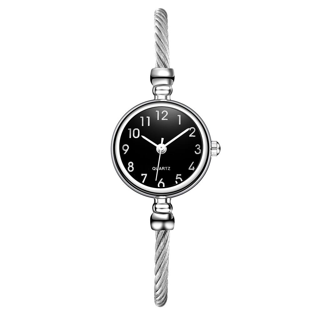 Ladies Women Watch Minimalism Cord Strap Design Bracelet Quartz Wrist Watch Relojes De Mujer Reloj De Mujer Montres Femme Montre