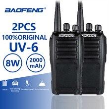 Get more info on the 2pcs Baofeng UV-6 Walkie Talkie 8w 2000mAh 128 CH UHF VHF Dual Band Two Way Radio Woki Toki 10KM Police Equipment Radio Amador