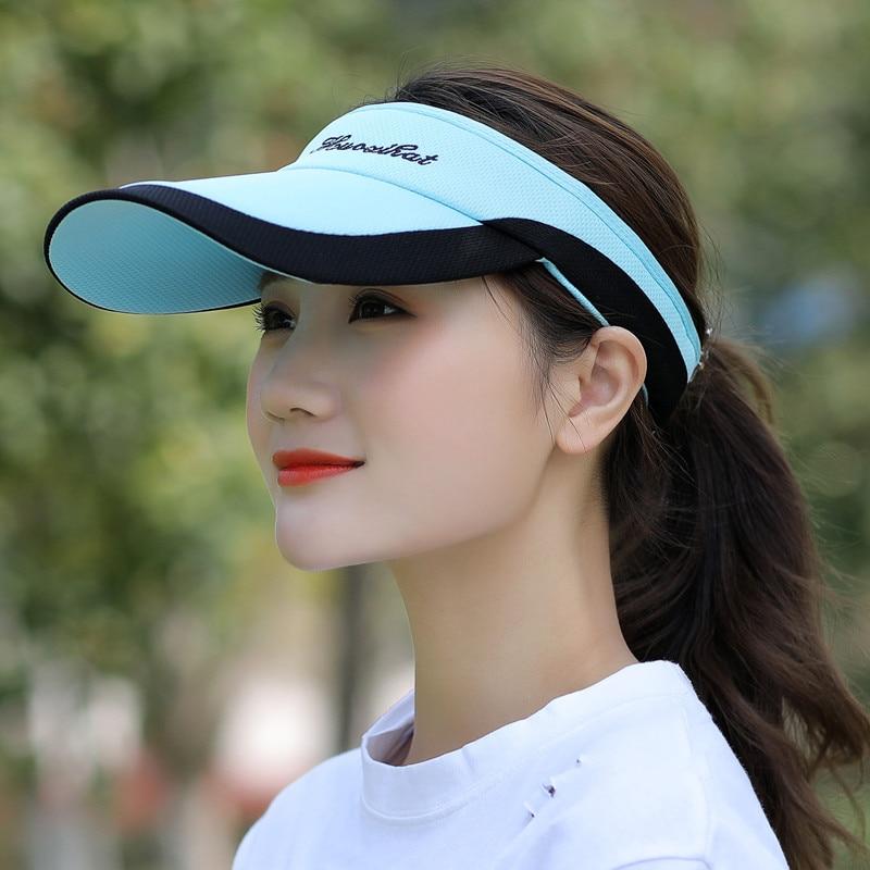 Kagenmo летняя Мужская Женская теннисная кепка без короны солнцезащитная Кепка бейсболка с козырьком - Цвет: D
