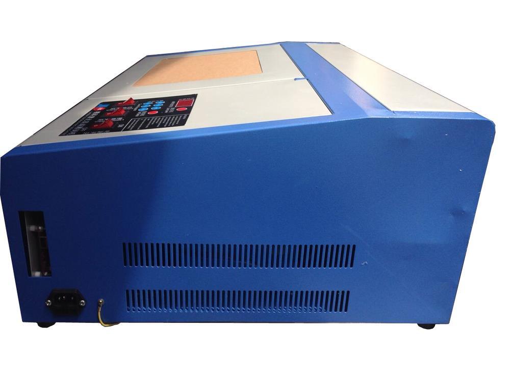 1 pcs 110/220 V 40 W 200*300mm Mini CO2 Graveur Laser Machine De Gravure De Coupe 3020 Laser avec USB Sport