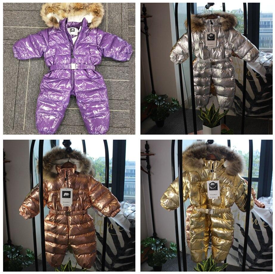 -35 degrés Orangemom 2019 vêtements pour enfants coupe-vent bébé enfants combinaison d'hiver doudoune manteau pour fille garçons vêtements - 2
