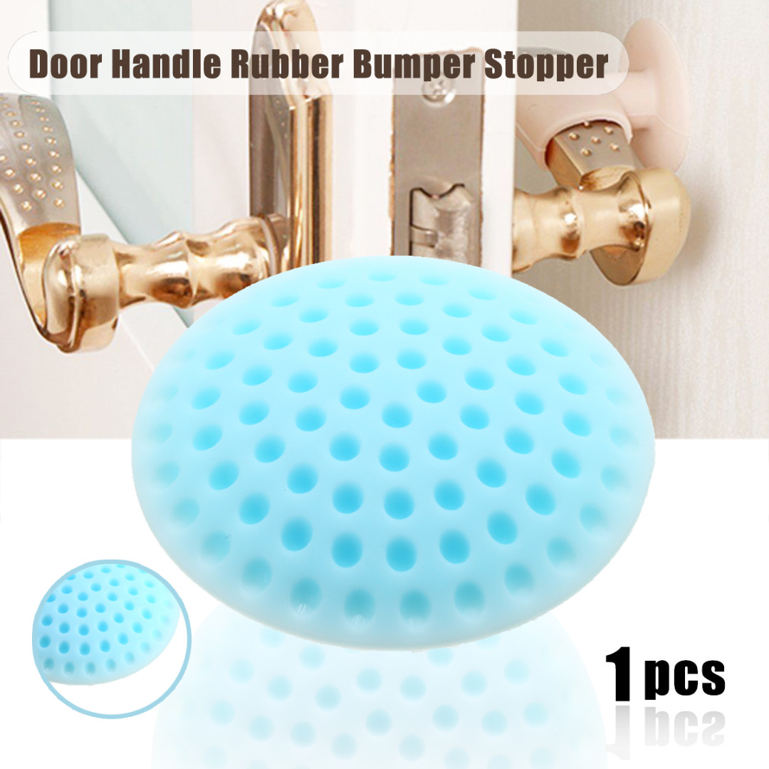 1pc Self Adhesive Wall Protectors Door Handle Bumpers Door Guard Stopper Door Buffer Pad for Door Stopper Doorstop