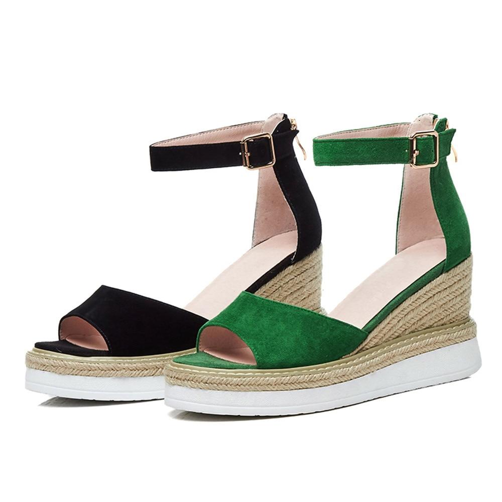 D'été Plate Forme Smirnova De Chaussures Zip Talons Hauts En Boucle O80wkXNnPZ