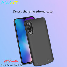 Extenal Battery Charger Cases For Xiaomi Mi 9 SE Battery Case 6500mAh Fashion Ultra Slim Portable Power Bank Pack Charging Cover