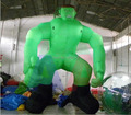 5m H Giant Inflatable Green Man/Inflatable  Hulk for Decoration