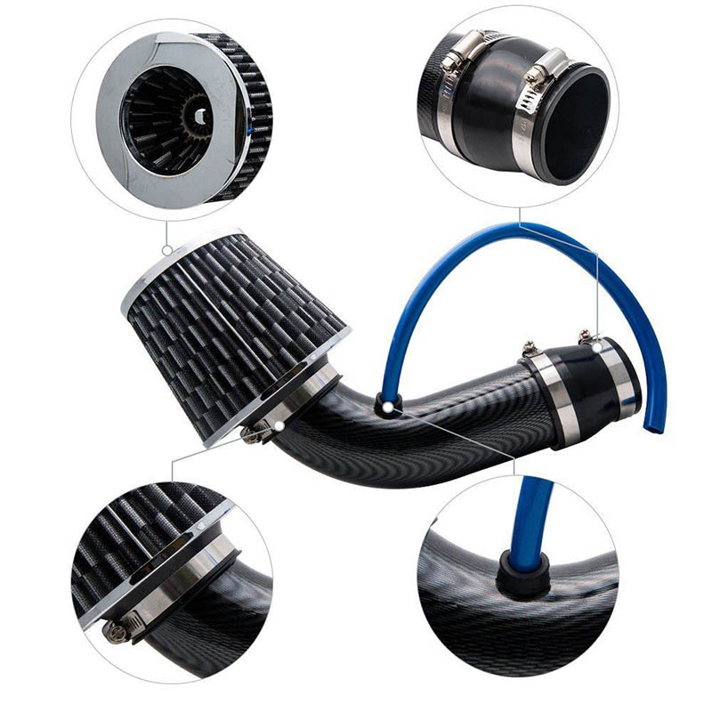Silver Induction Kit Air Filter Puma Fusion Probe Orion