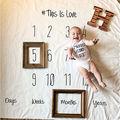Carta new Bebê Recém-nascido Fotografia Foto Props Infantil Tapete Cobertor pano de Fundo de Algodão Macio Sacos de Dormir