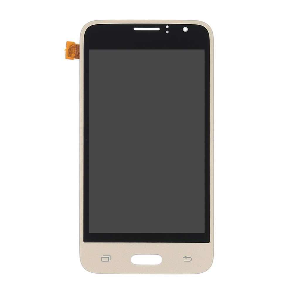 لسامسونج غالاكسي J1 2016 عرض J120 J120F J120M J120H LCD محول الأرقام شاشة تعمل باللمس الجمعية J120f شاشات LCD لسامسونج J1 2016 LCD