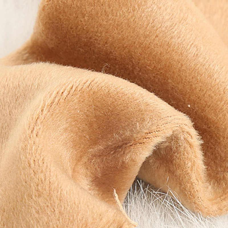 Mulus Beludru Sepatu Lantai Tidur Kaus Kaki untuk Wanita Panas Musim Dingin Hangat Wanita Menebal Termal Wol Kasmir Salju Kaus Kaki