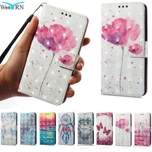hot deal buy 3d bling flowers flip leather case for xiaomi redmi 4x 5a 5 plus redmi note 4x 4 stand wallet cover redmi note 5 pro 5a prime