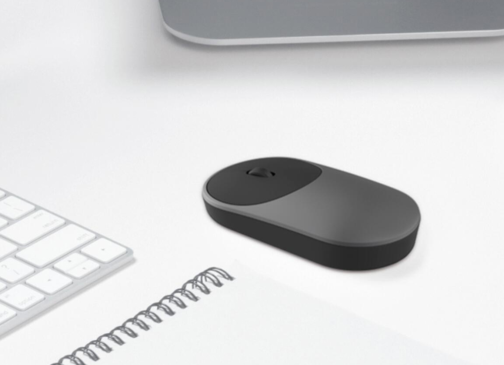 Image 5 - 100% Original Xiaomi Mouse Portable Optical Wireless Bluetooth Mouse 4.0 RF 2.4GHz Dual Mode Connect for Laptop pc-in Mice from Computer & Office