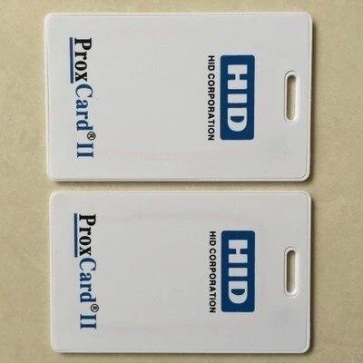 125khz H ID PROX II Clamshell Card Rewritable RFID Proximity H-ID Thick Card