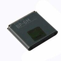 Originele BP-6M telefoon batterij voor Nokia N73 N77 N93 N93S 3250 6151 6233 6234 6280 6288 6290 9300I 9300 BP6M