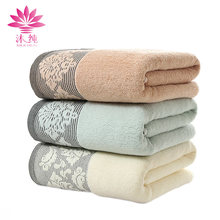 muchun Brand Misty Rain Grilles 100% Natural Cotton Fabric Towel Rectangle Washrags Soft Face Towels 34cm*74cm