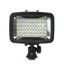 60 Diving Fill Lights 40m Waterproof Photo Lamp Gopro Waterproof LED Diving Light