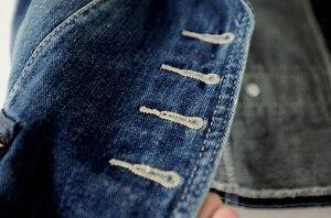 Image 4 - 90% Katoen Lente Single Breasted Casual Vesten Denim Vest Vrouwelijke Slanke Jeans Jas Zomer Mouwloze Jassen Vrouwelijke Jas